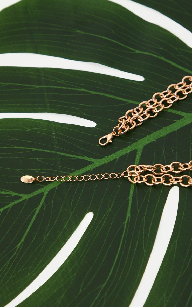 Gold Leaf Pendant Necklace 4