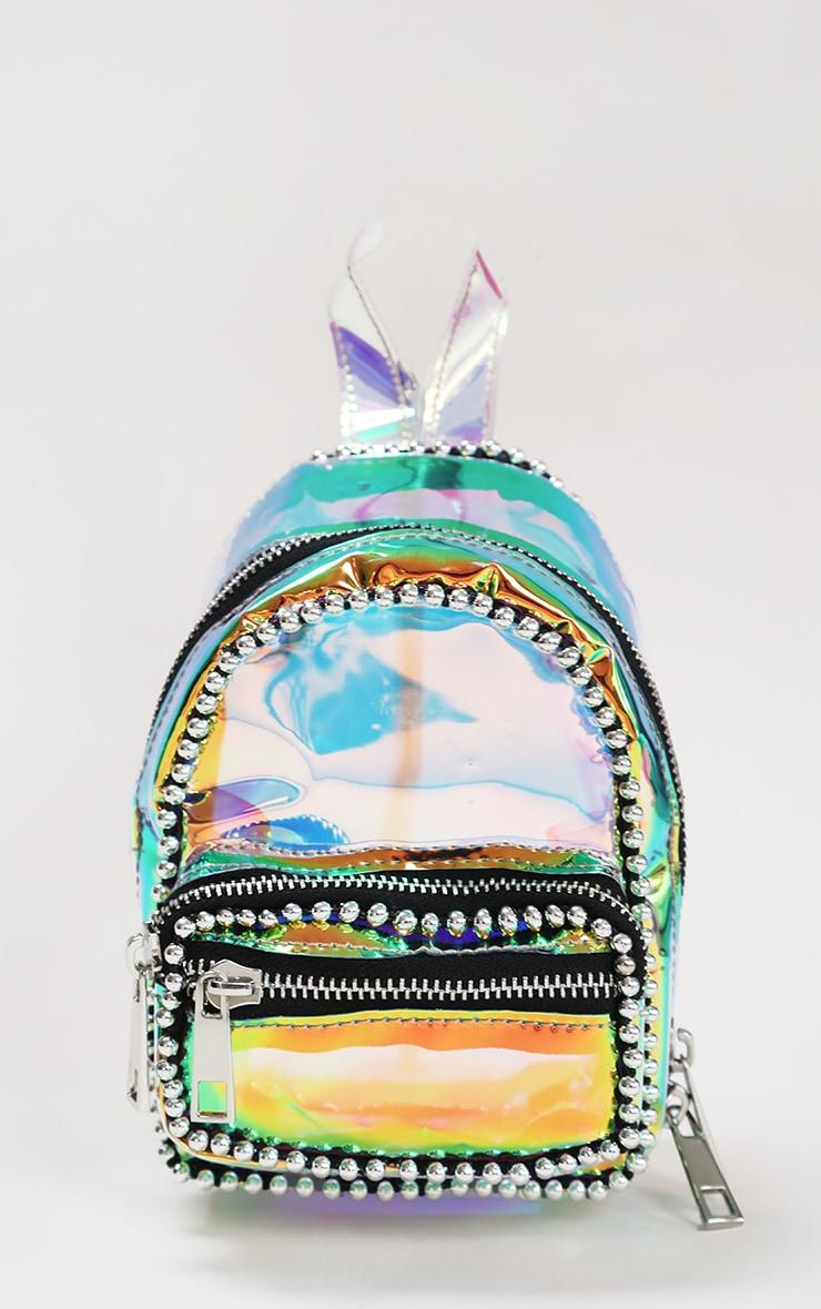 Rainbow Ball Chain Border Mini Backpack 1