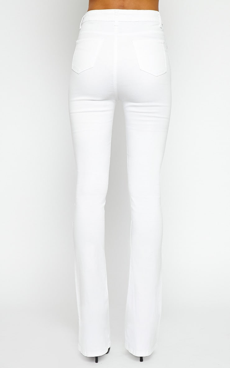 Nellie White Flared Jean 5