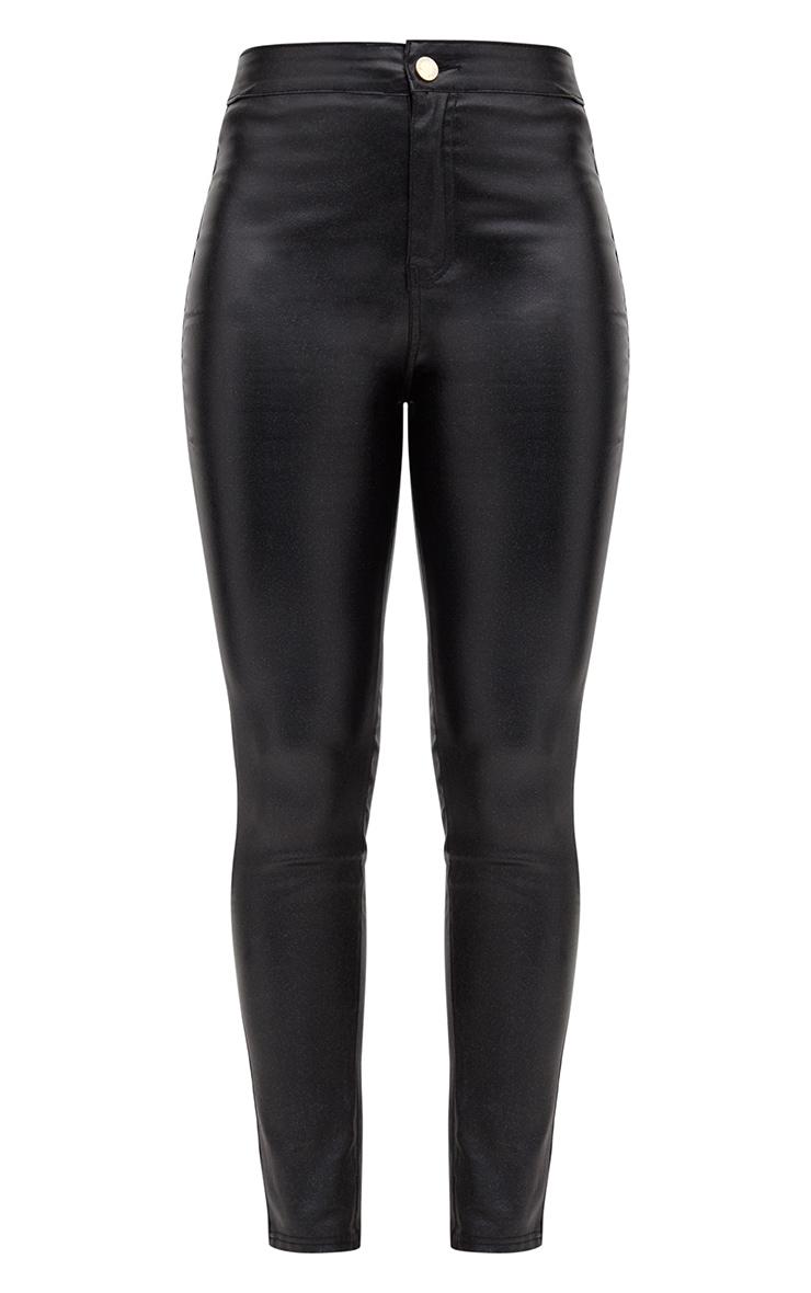 Black Glitter Disco Jean  3