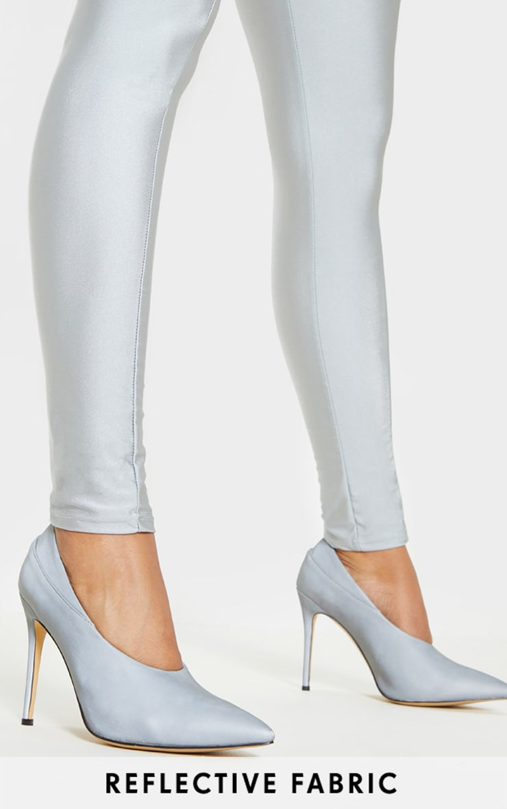 Reflective High Vamp Court Shoes 1