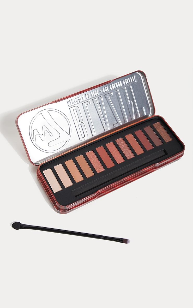 W7 Cosmetics Blazin Buff Eyeshadow Palette 1
