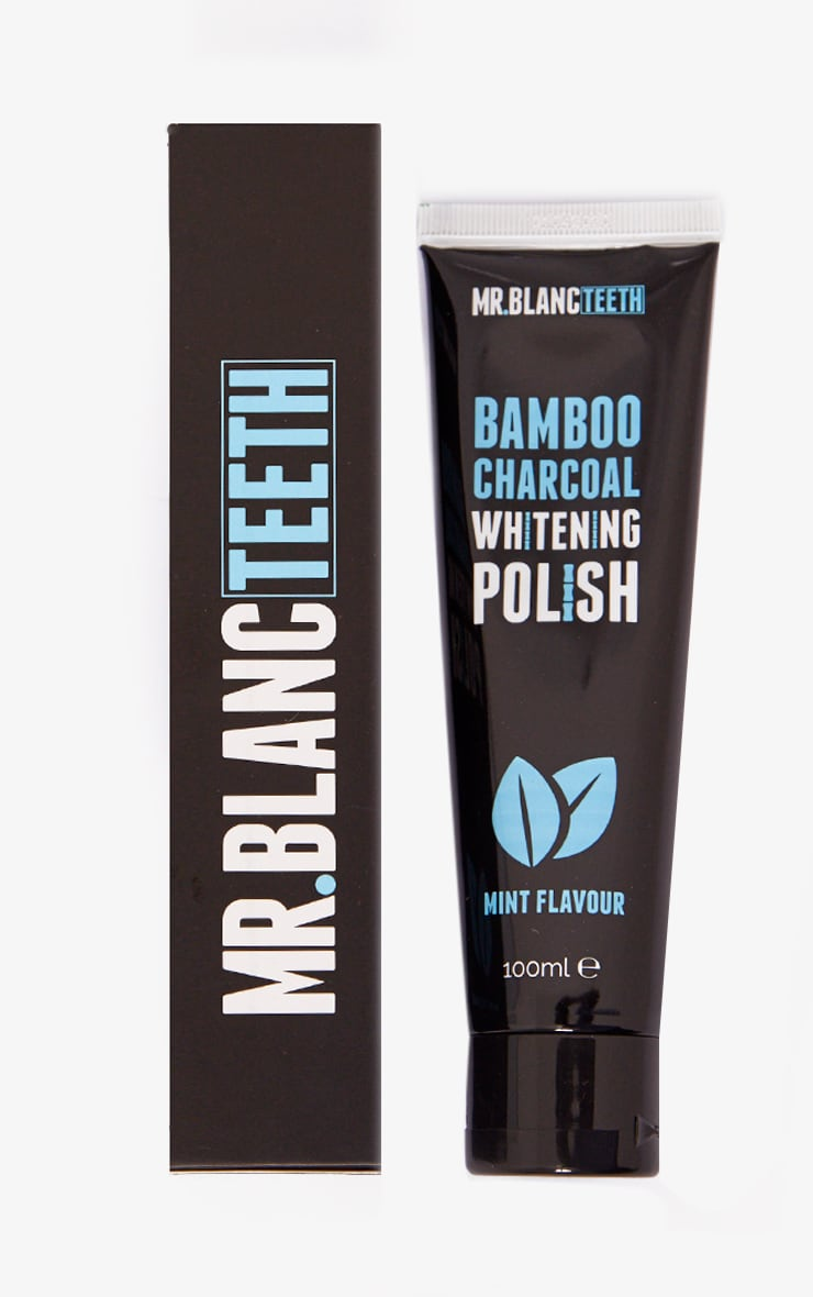 Mr.Blanc Charcoal Tooth Whitening Polish