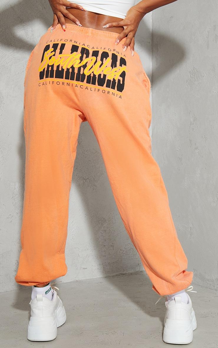 Orange South West Calabasas Joggers 3