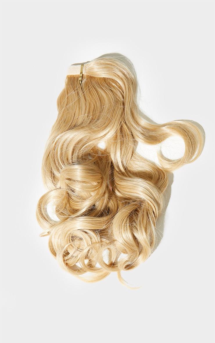 Lullabellz Mini Grande 18 90s Curl Wraparound Pony Golden Blonde 5