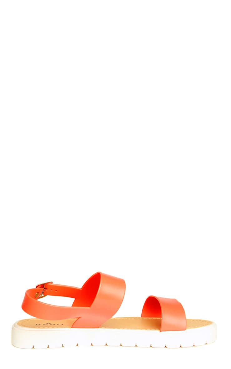 Anneli Coral Rubber Sandals 4