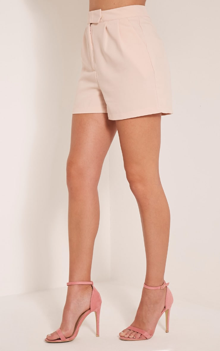 Viona Blush Tailored Shorts 4