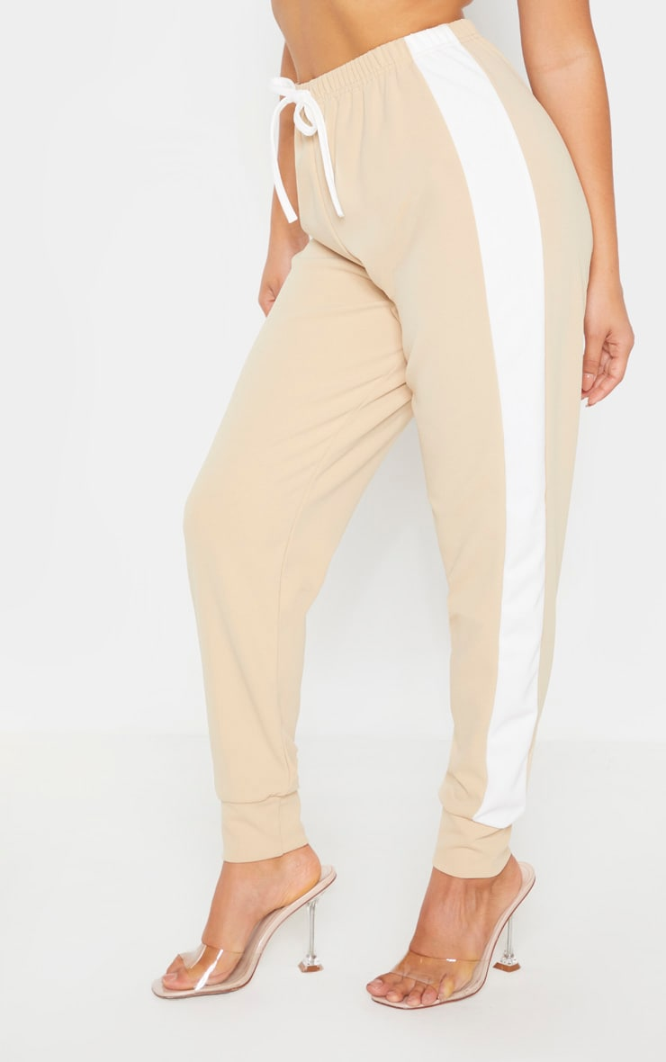 Petite Stone Side Stripe Detail Track Pants 2