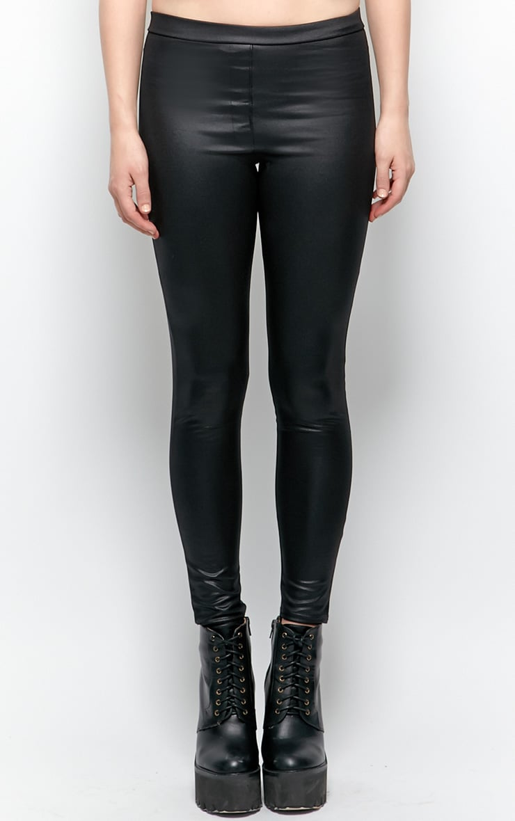 Emilia Black Disco Leggings 3