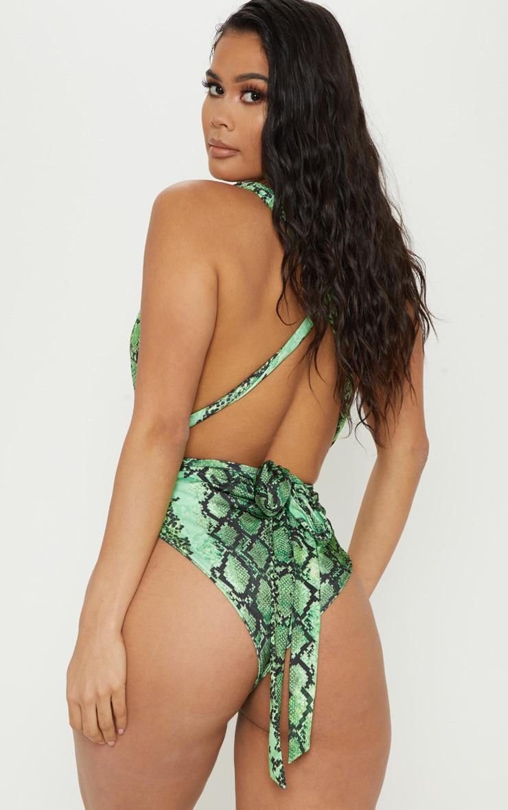 Green Snake Multiway Swimsuit 2