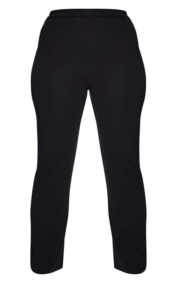 Plus Black Straight Leg Suit Pants 5