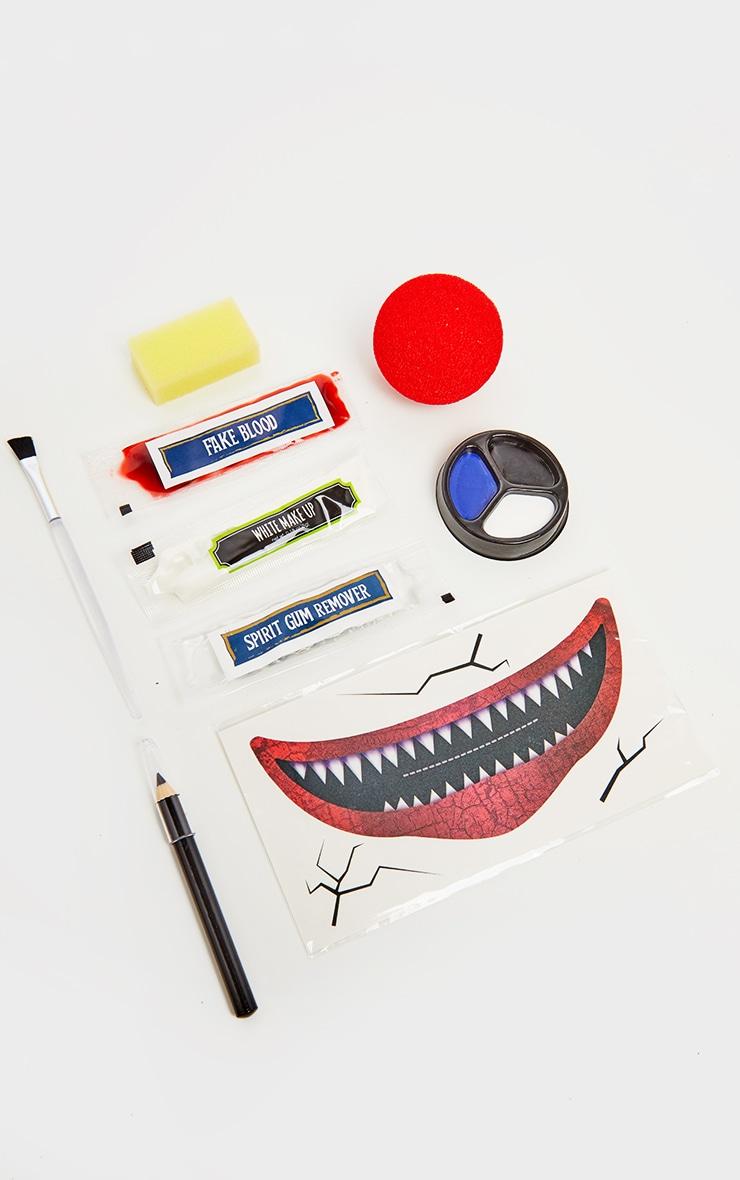 Maquillage d'Halloween clown maléfique 2