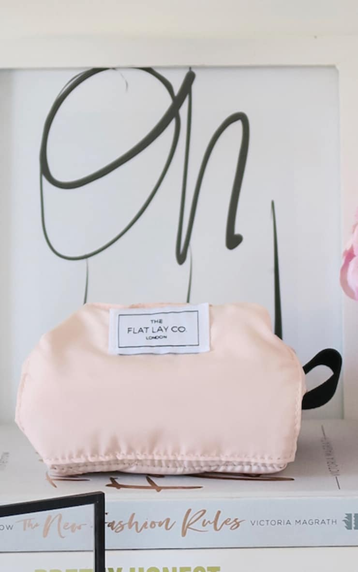 The Flat Lay Co Blush Pink Makeup Bag image 1