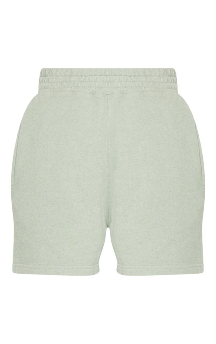 Mint Sweat Pocket Shorts 6