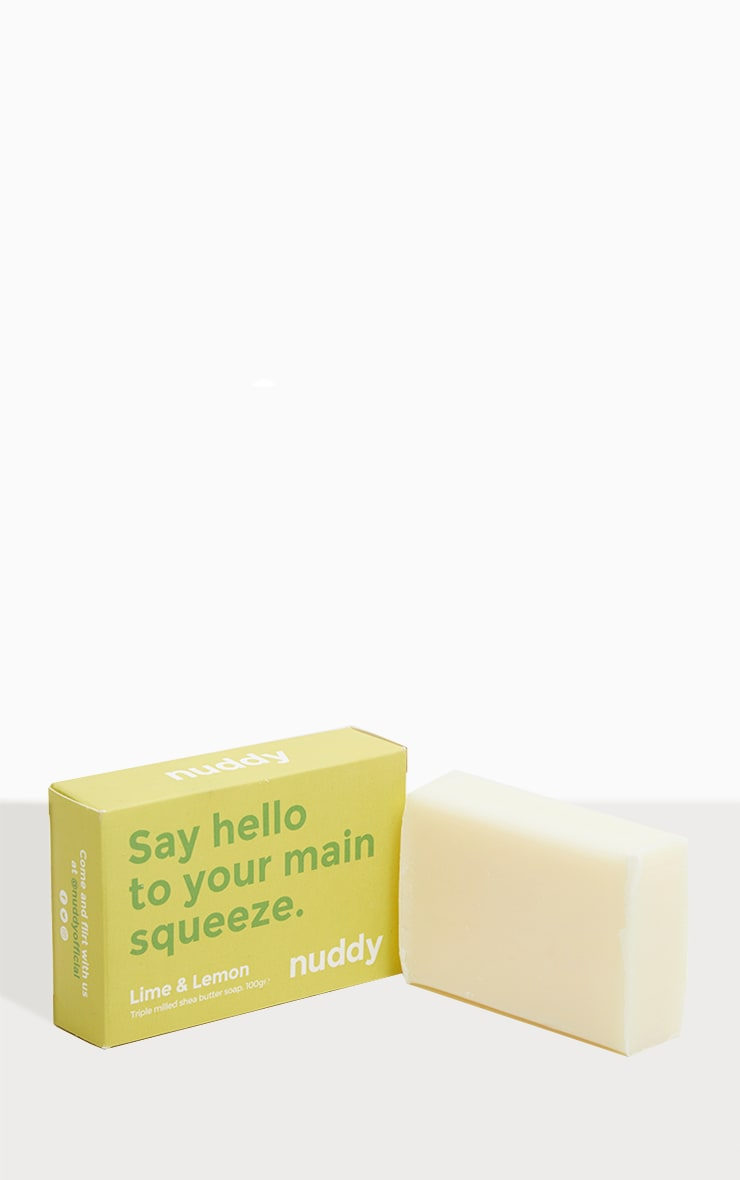 Nuddy Lime & Lemon Soap