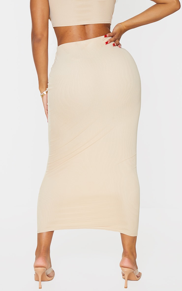 Shape Stone Mesh Midaxi Skirt 3