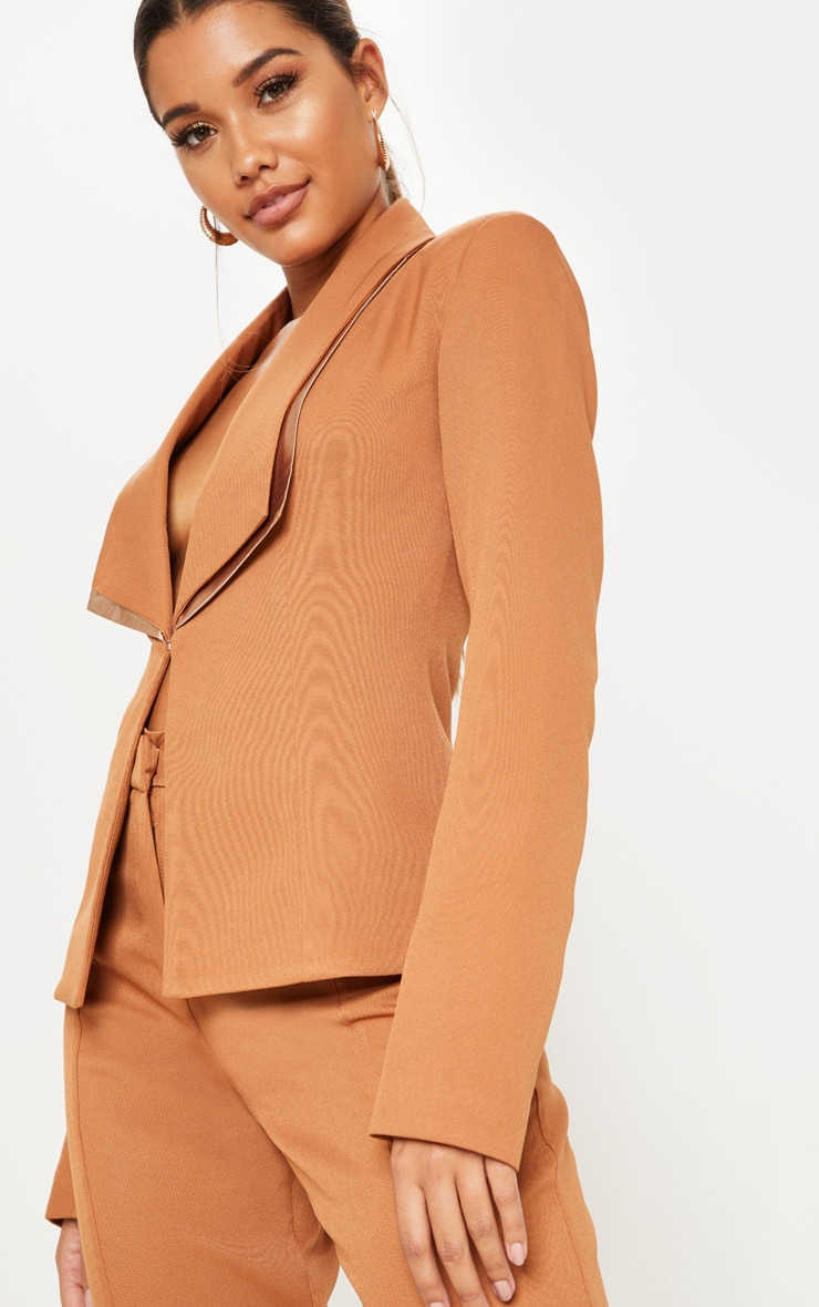 Camel Suit Jacket  5