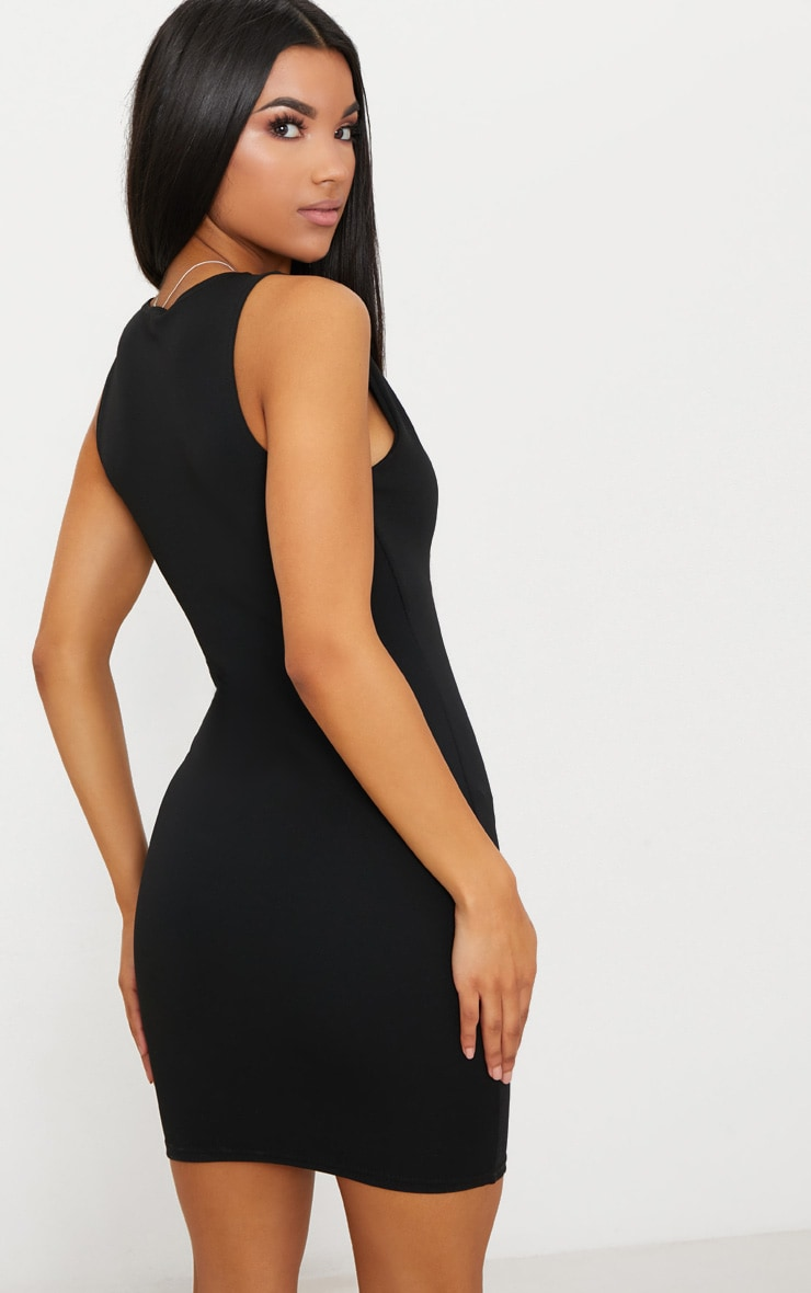 PRETTYLITTLETHING V Plunge Bodycon Dress New Arrival Cheap Online Cheap Low Cost Cheapest Price For Sale Clearance Geniue Stockist Shop ZU89No