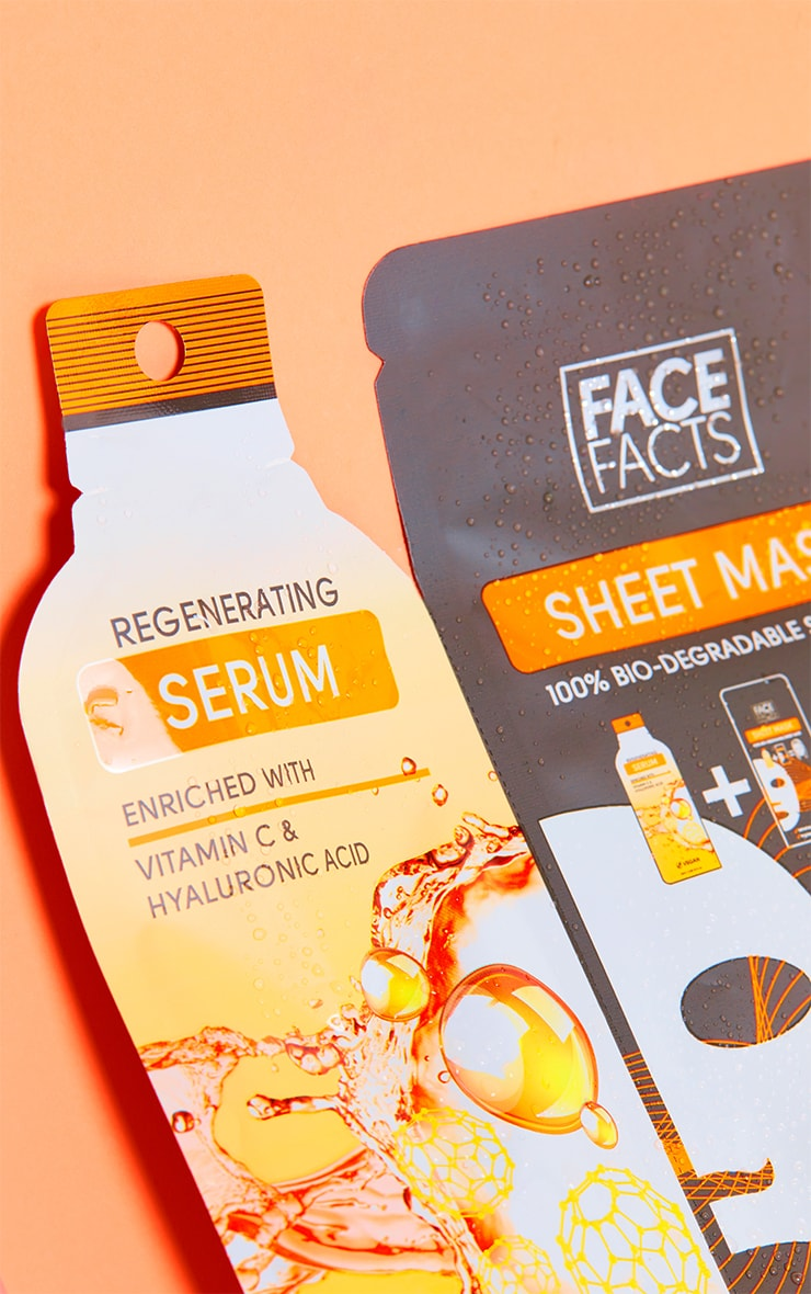 Face Facts Serum Sheet Mask Regenerating 2