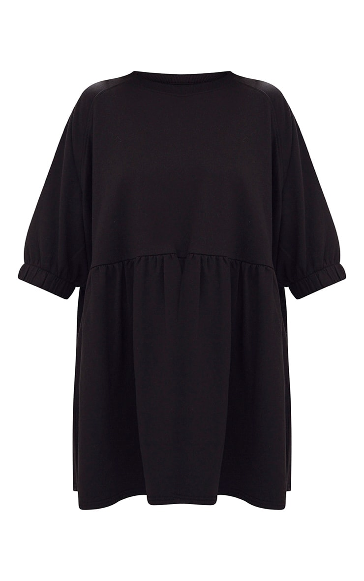 Black Smock Sweater Dress 3