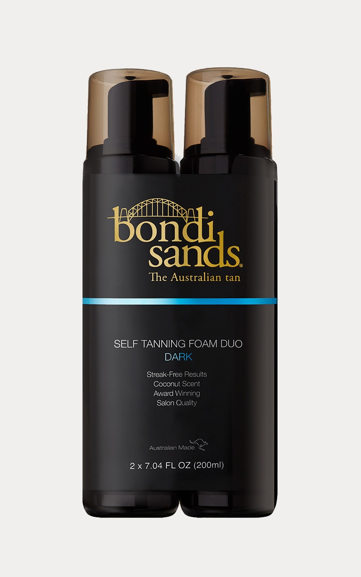 Bondi Sands Dark Foam Tanning Duo 1