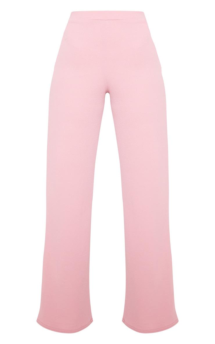 Pink Wide Leg Suit Trouser  4