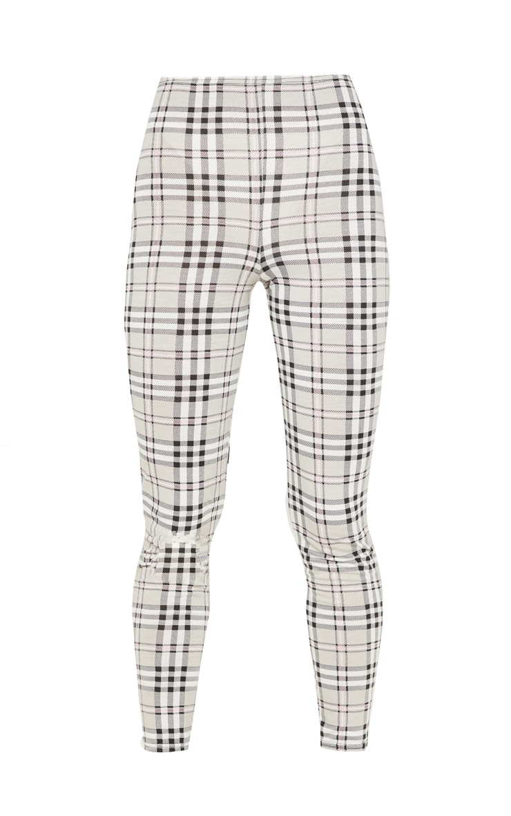 Grey Check Legging 3