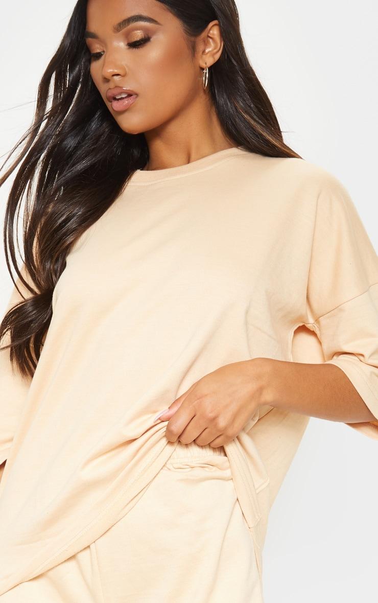 Fawn Oversized Sweat T-shirt 5