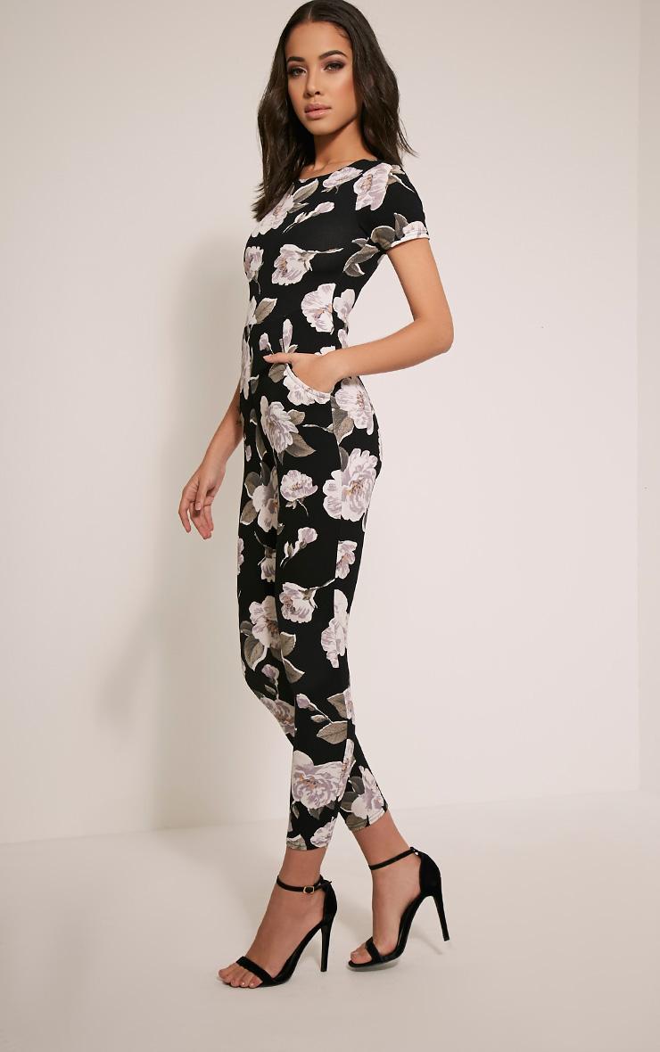 Rachael Ivory Floral Printed Jumpsuit 4