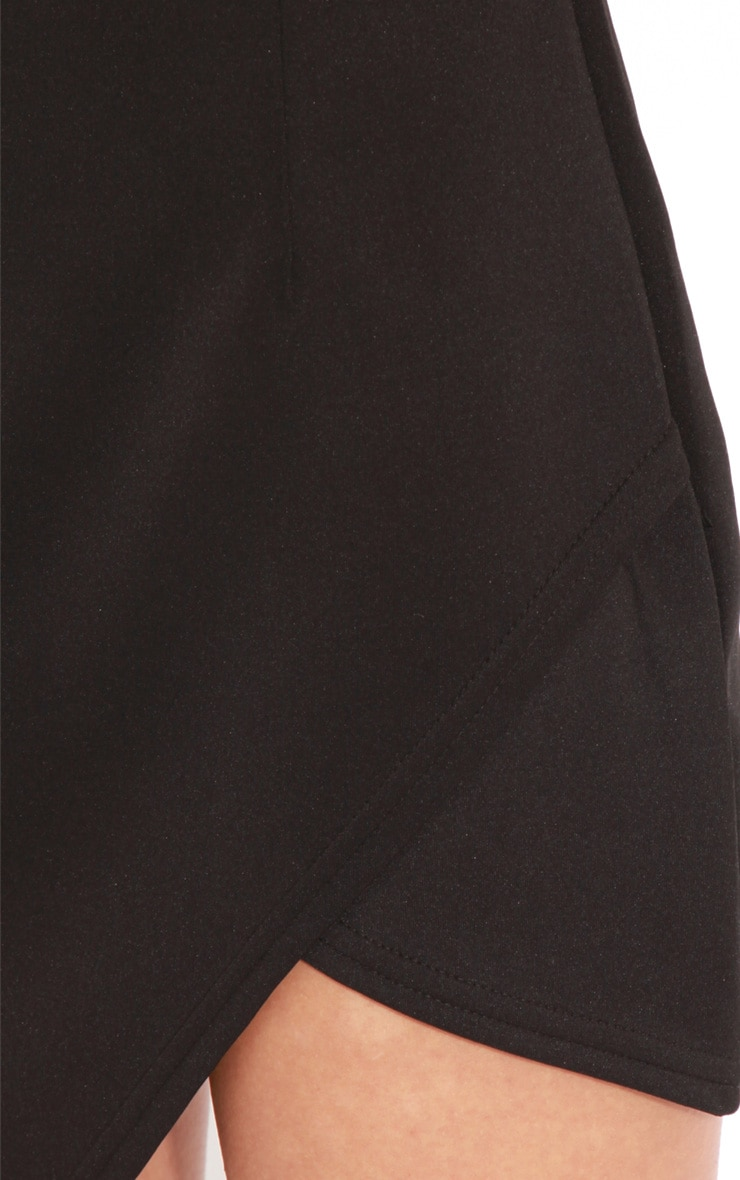 Celine Black Wrap Over Dress 5