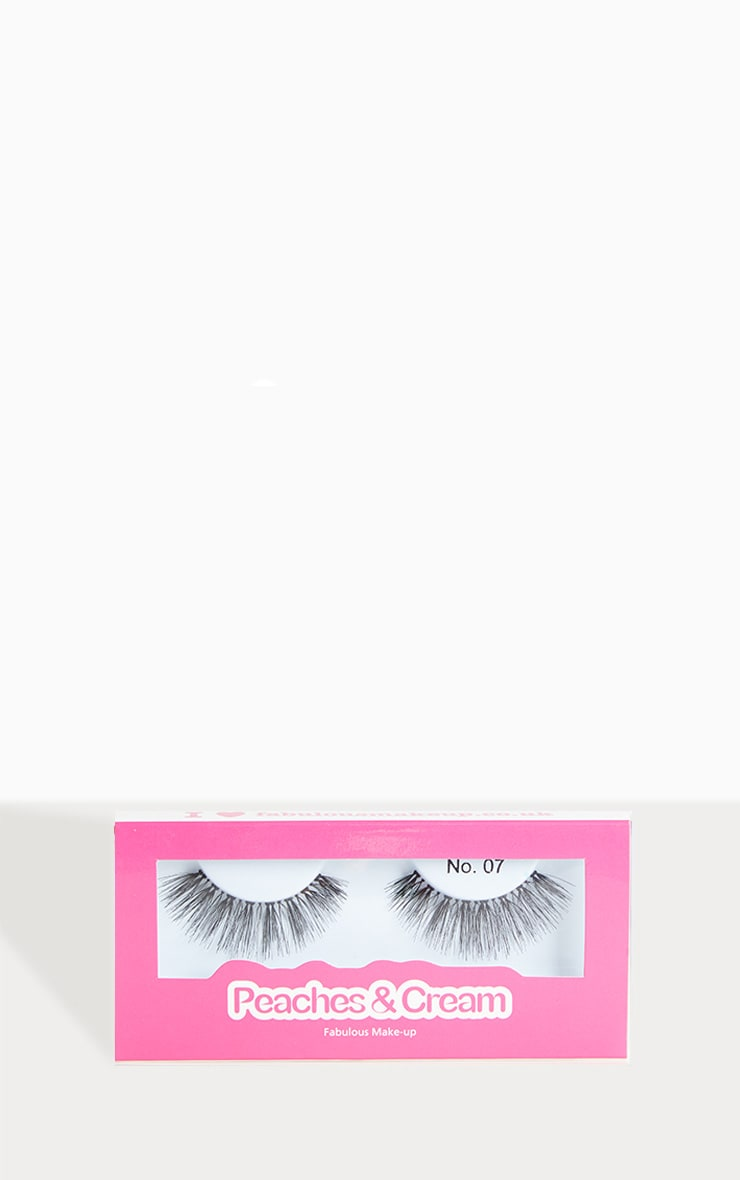 Peaches & Cream NO 7 False Eyelashes  1