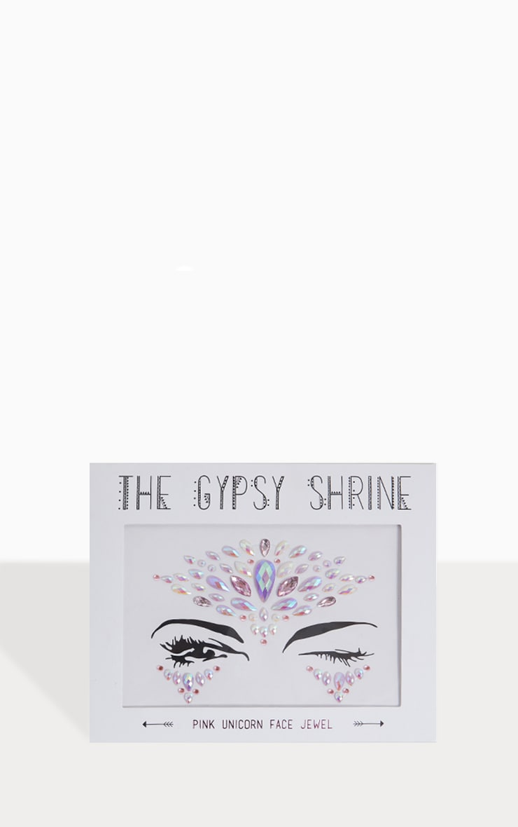 The Gypsy Shrine Pink Unicorn Face Jewel