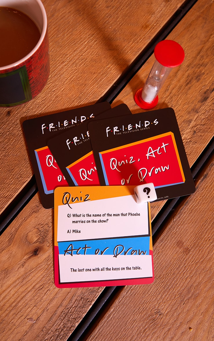 Friends Quiz Act or Know Trivia Game 2