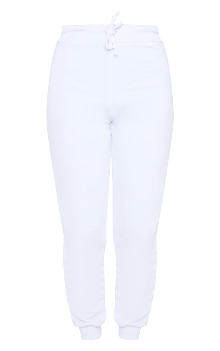 White Ultimate Sweat Joggers 5
