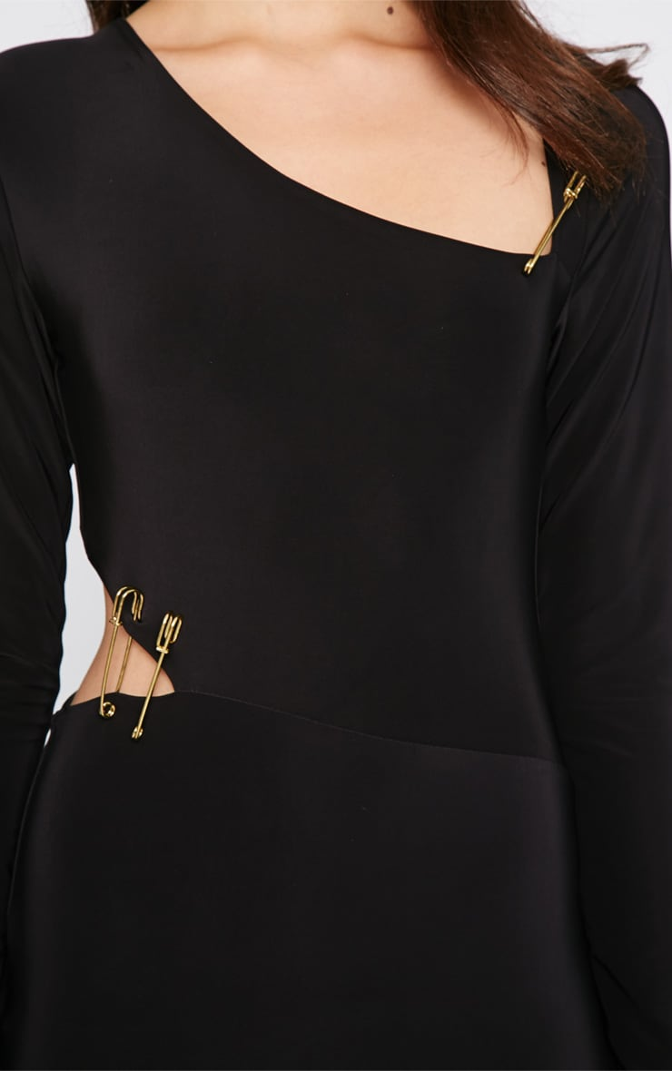 Unay Black Pin Dress 5