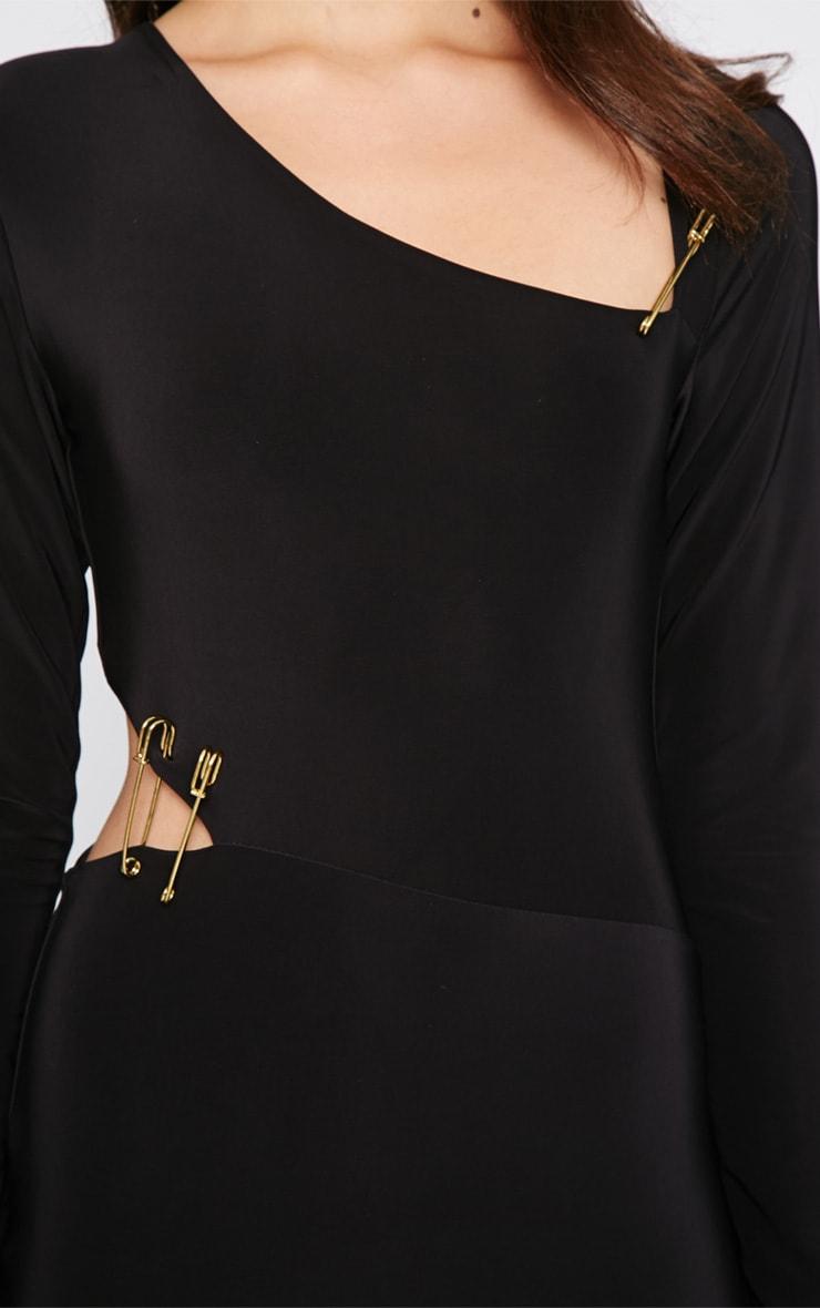 Unay Black Pin Dress 5