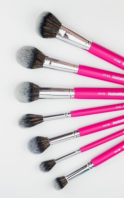 Peaches & Cream Essential Face Brush Set
