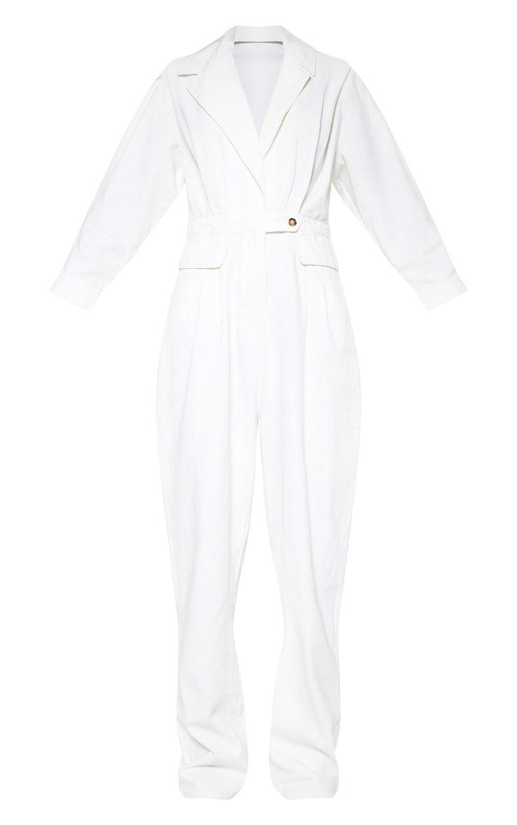 White Utility Boilersuit 3
