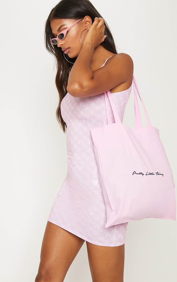 Prettylittlething Pink Tote Bag by Prettylittlething