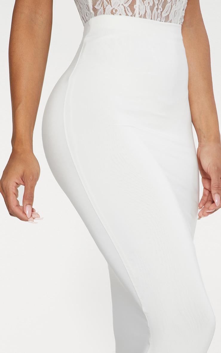 Seconde Peau - Jupe longue blanche  2