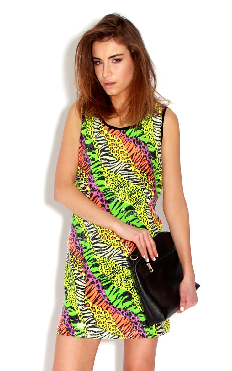 Safari Sequin Dress  1