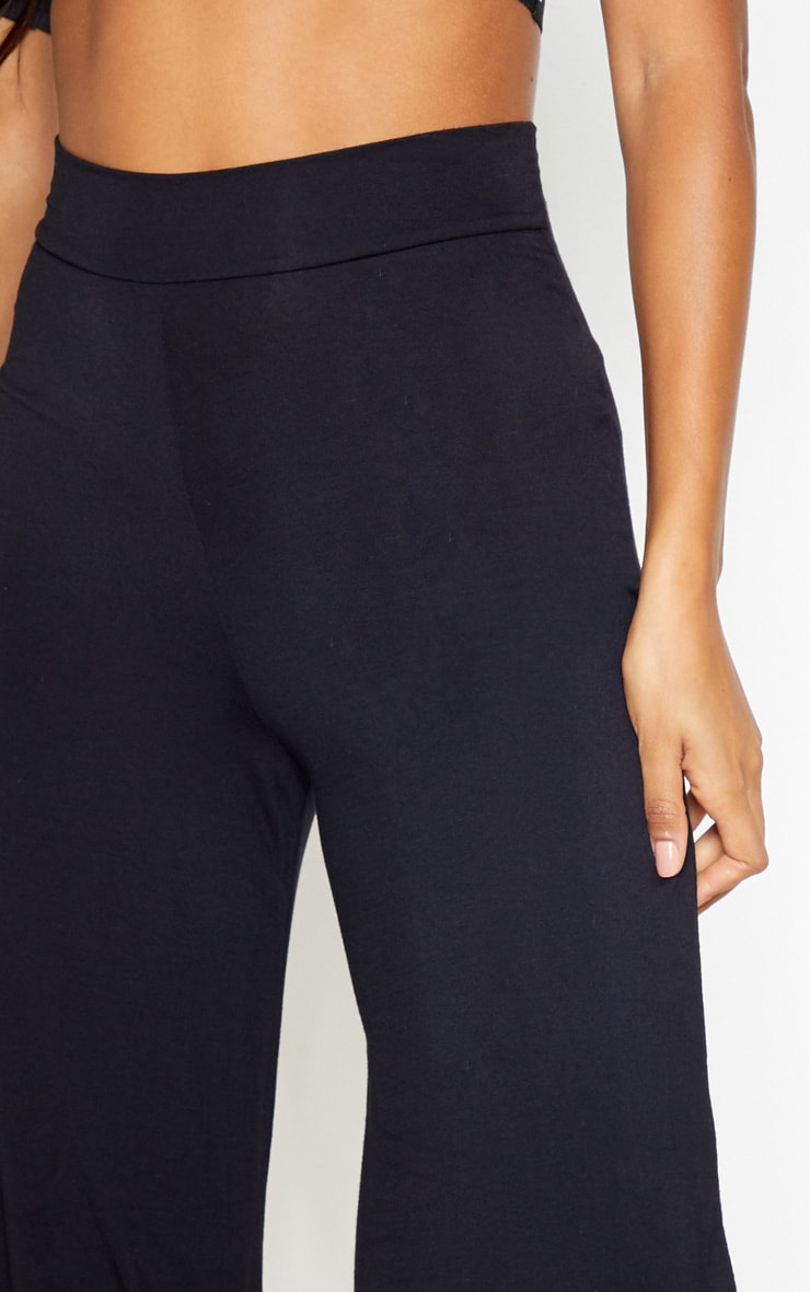 Black And Grey Basic Culotte 2 Pack 5