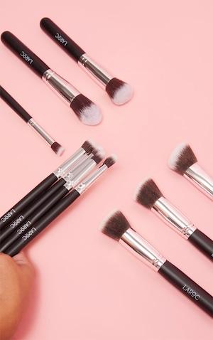 10 Piece Kabuki Makeup Brush Set Bundle