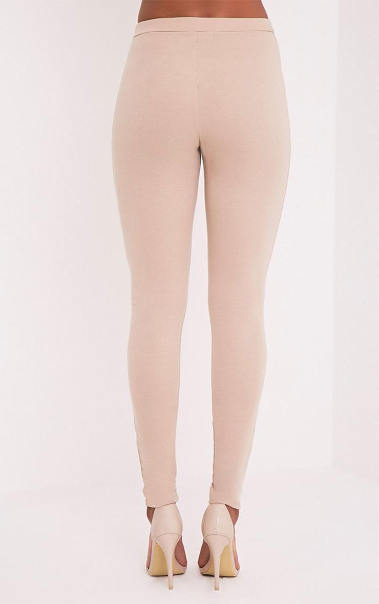 Rach Nude Mesh Front Leggings 5