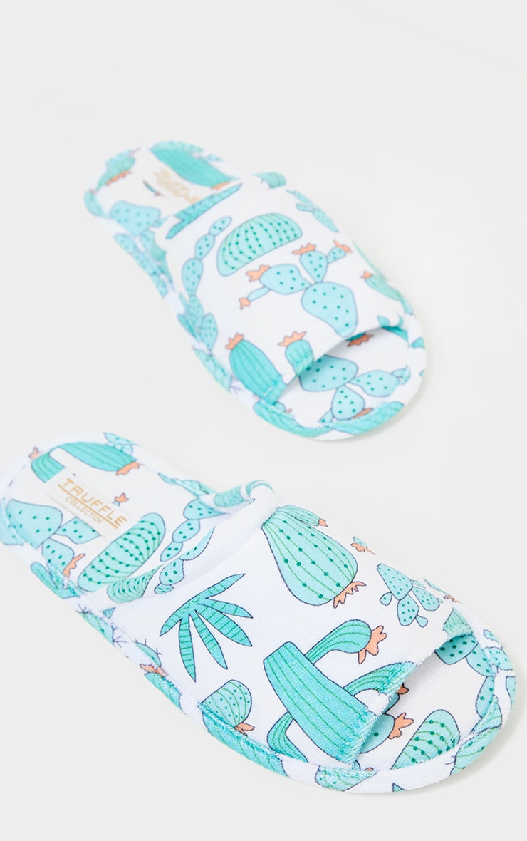 Green Cactus Slippers 3