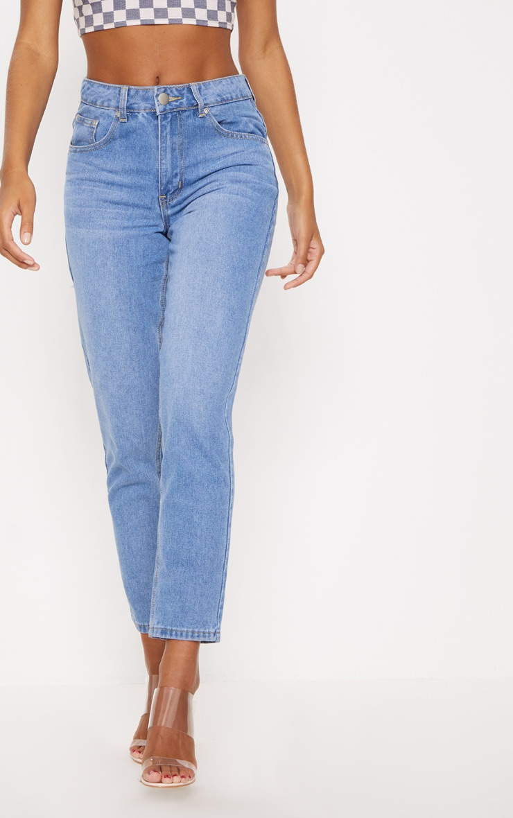 Bum Rip Light Wash  Boyfriend Jean 2