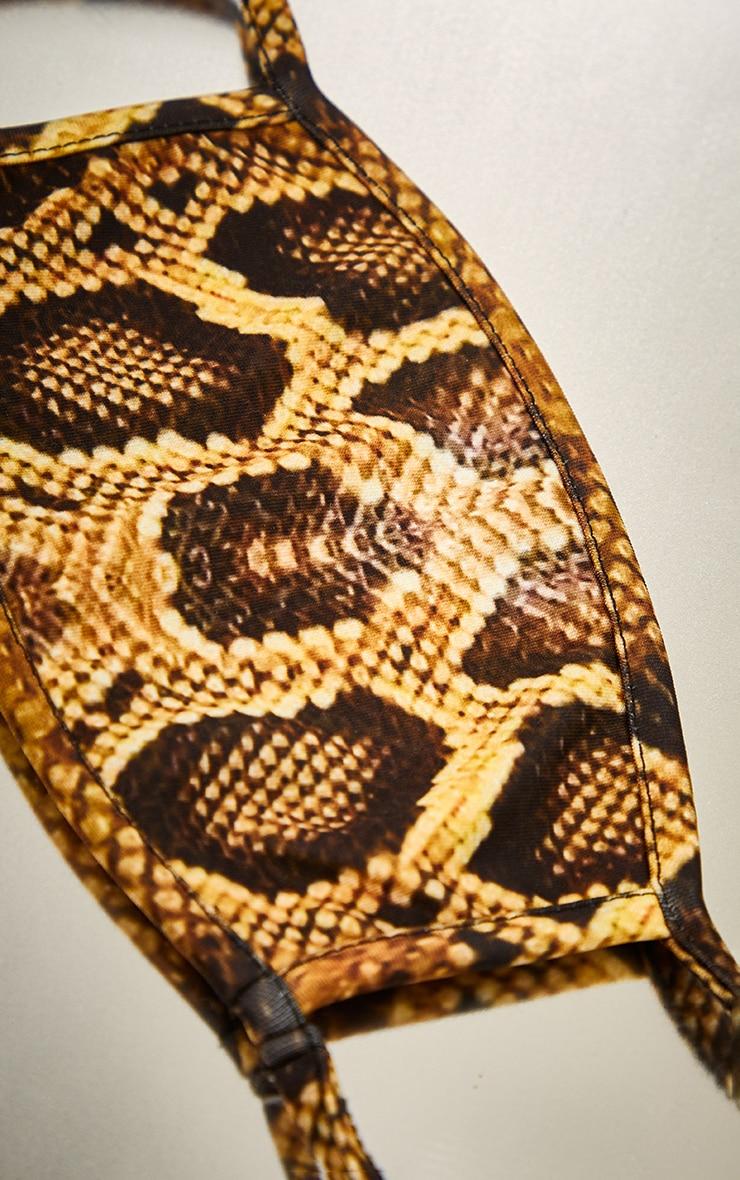 Natural Snake Face Mask 2