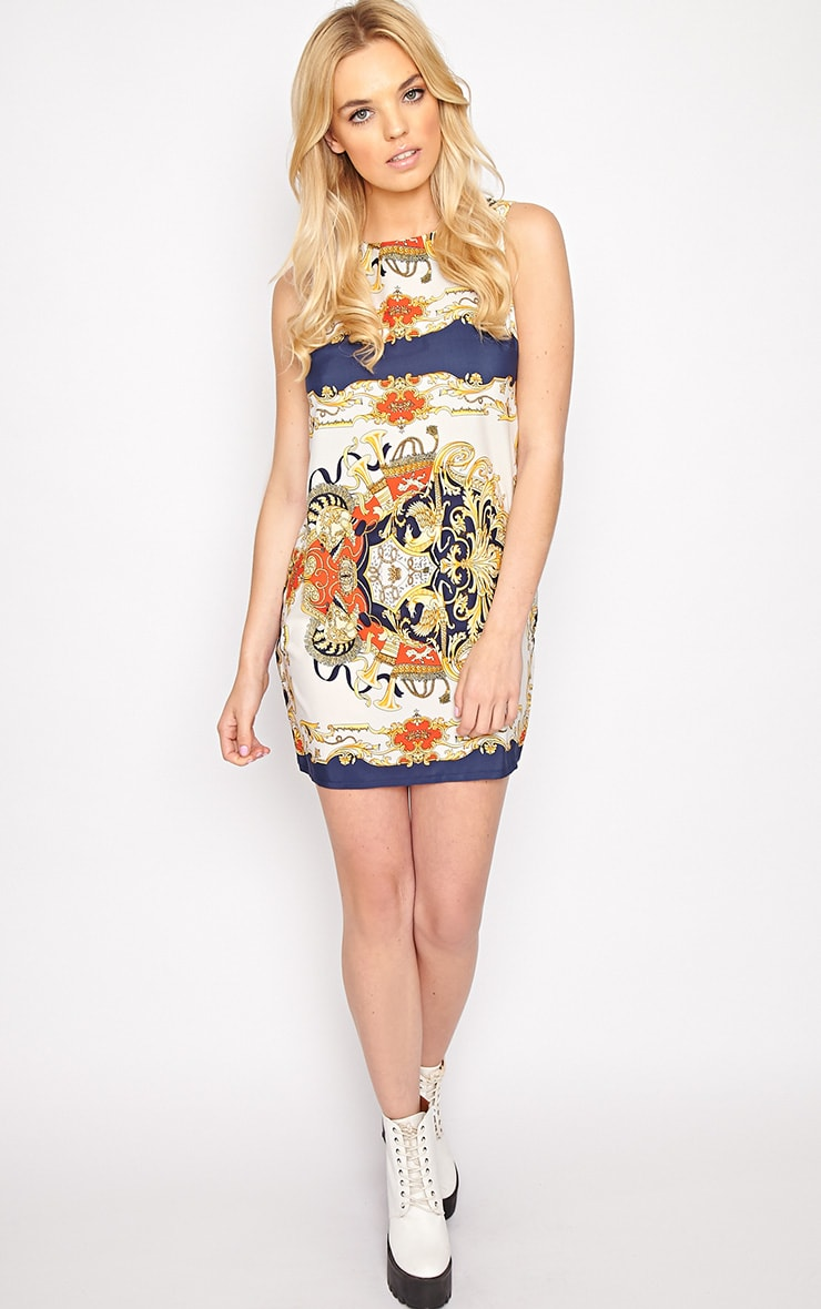 Margot Regal Print Shift Dress 3