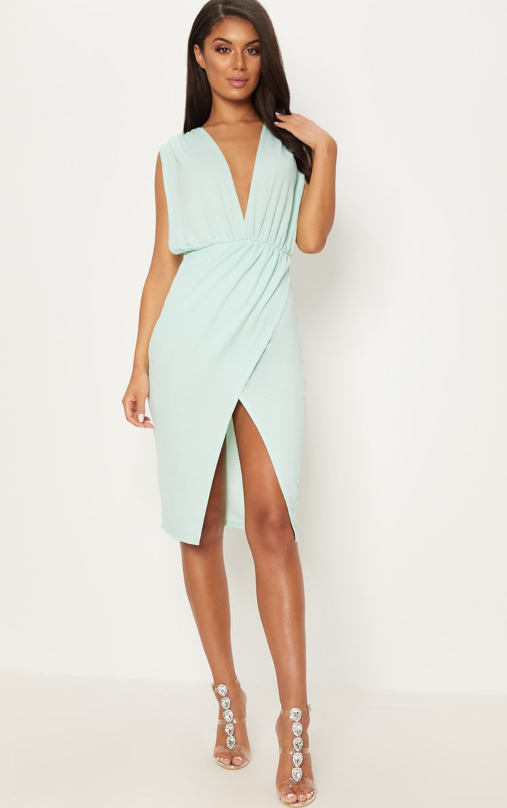 d99896e399 Plunge Down Midi Dress Stuff to buy t Stuff to buy and