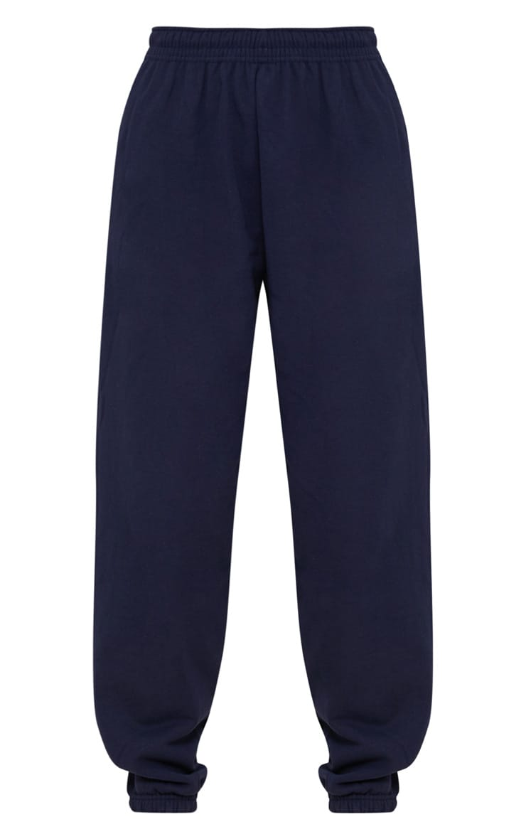 Navy Blue Casual Joggers 3
